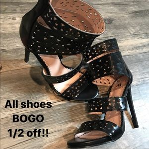 Black Heels Shoedazzle